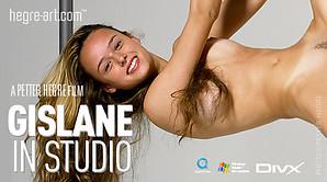 Gislane in studio