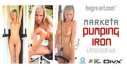 Marketa Pumping Iron