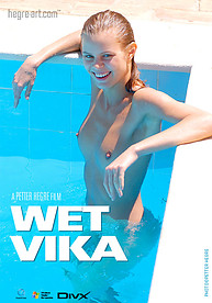 Vika toute mouillée