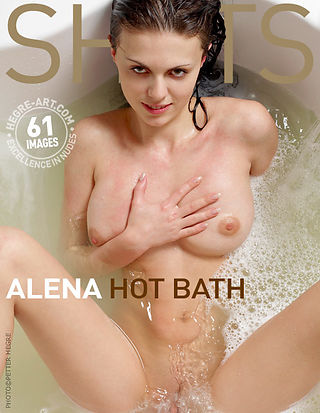 Alena hot bath