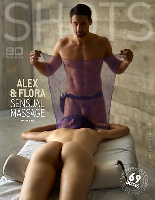 Alex and Flora sensual massage part1