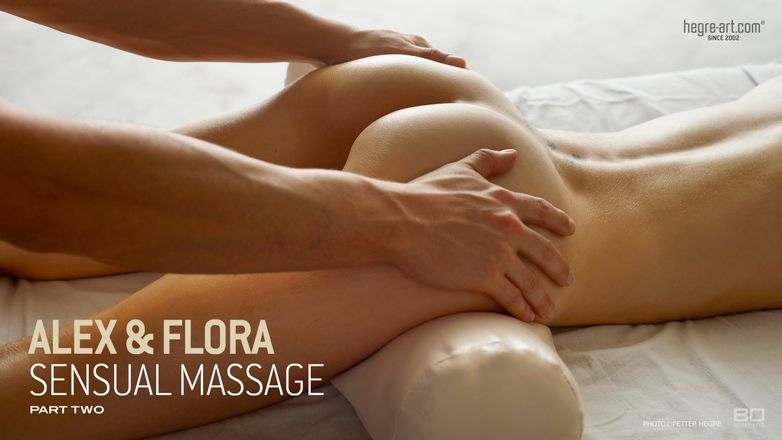 Alex and Flora sensual massage part 2