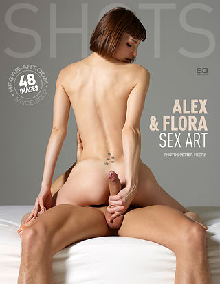 Alex and Flora sex art