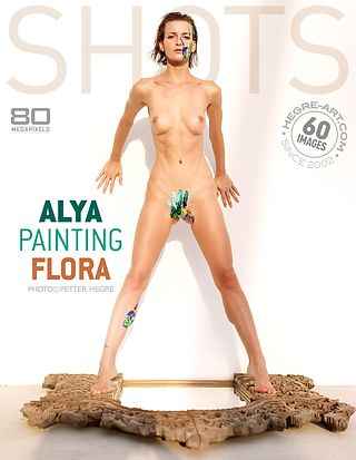 Alya painting Flora