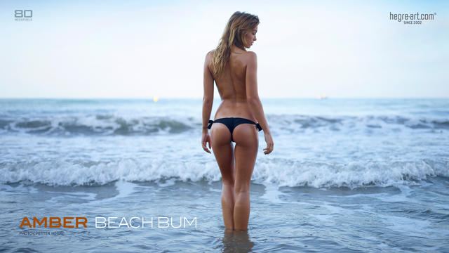 Amber beach bum