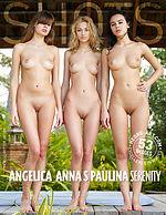 Angelica, Anna S, Paulina sérénité