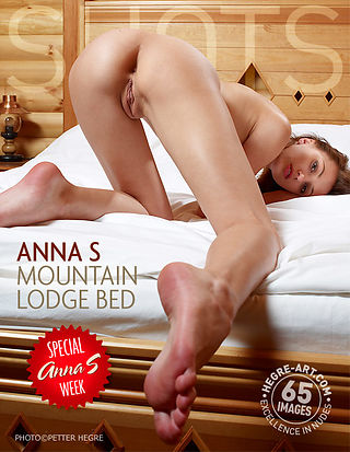 Anna S mountain lodge bed