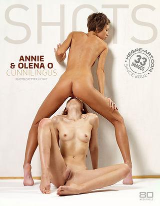 Annie and Olena O cunnilingus