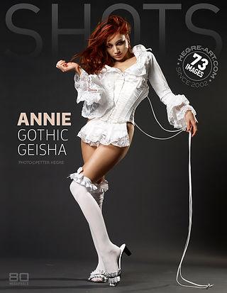 Annie geisha gothique