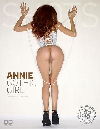Annie fille gothique