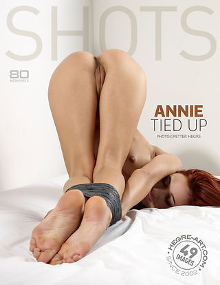 Annie tied up
