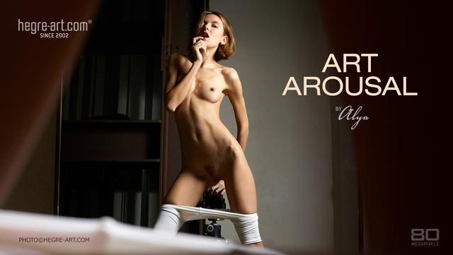 Art arousal by Alya