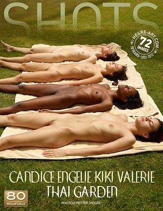 Candice Engelie Kiki Valerie thai garden