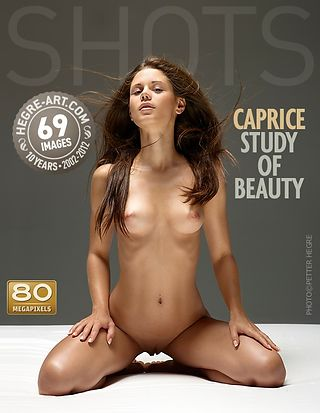 Caprice study of beauty