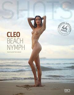 Cleo ninfa en la playa