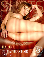 Darina in leather chair - Part 2