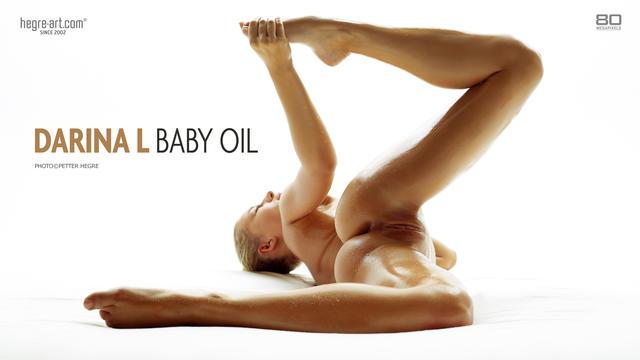 Darina L aceite de bebé