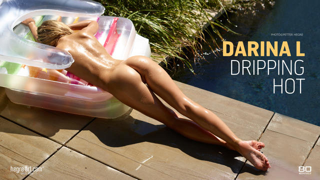 Darina L dripping hot
