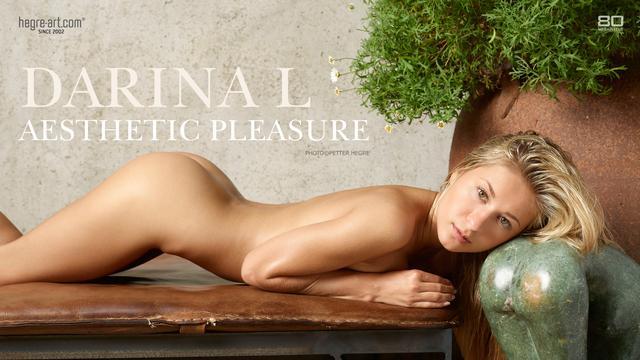 Darina L I aesthetic pleasure
