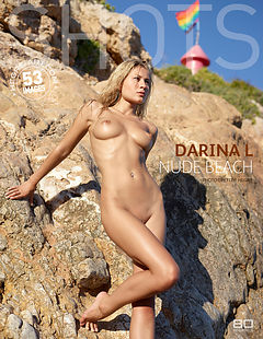 Darina L nude beach