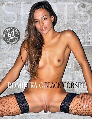 Dominika C corset noir