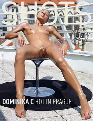 Dominika C hot in Prague