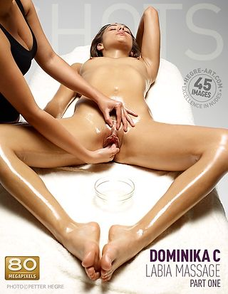 Dominika C labia massage part1
