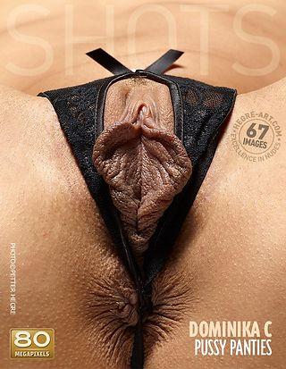 Dominika C pussy panties