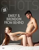 Emily and Brendon from behind
