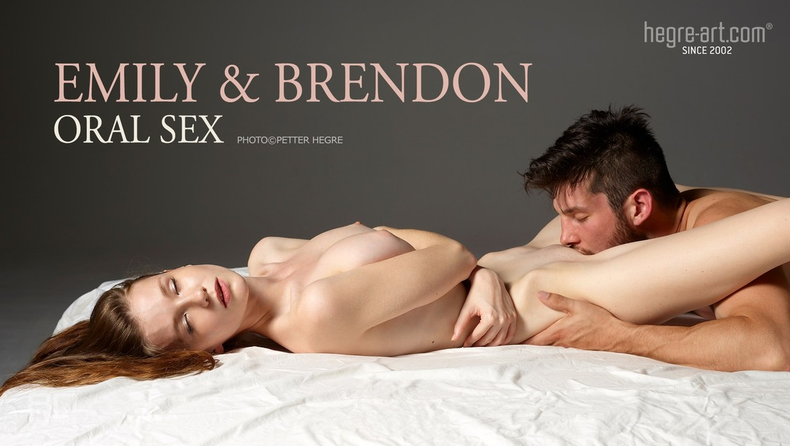 Emily and Brendon oral sex