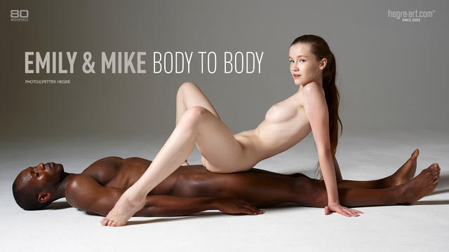 Emily and Mike body to body