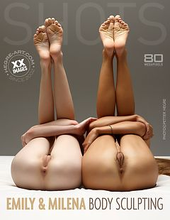 Emily and Milena body sculpting