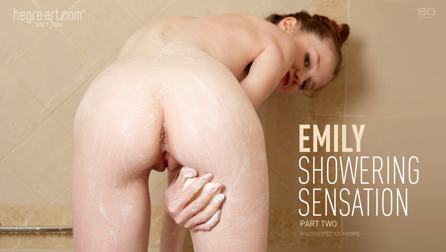Emily Showering Sensation part 2