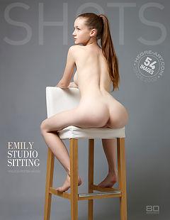 Emily studio sitting