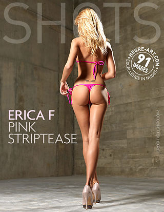 Erica F pink striptease