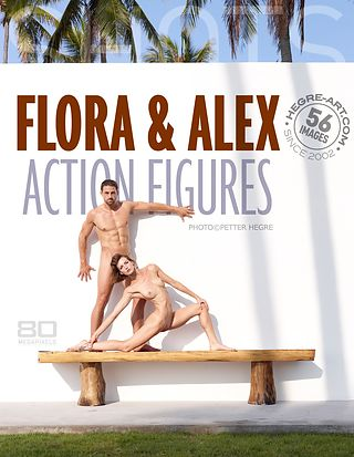 Flora and Alex action figures