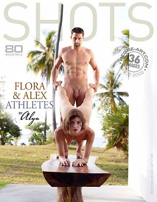Flora and Alex athletes