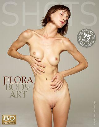 Flora body art