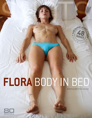 Flora body in bed