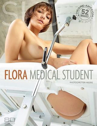 Flora estudiante de medicina