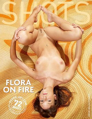 Flora on fire