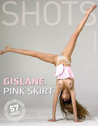 Gislane pink skirt