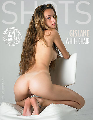 Gislane white chair