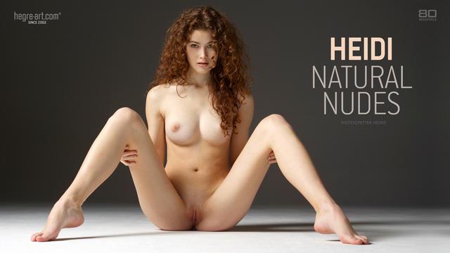 Heidi natural nudes