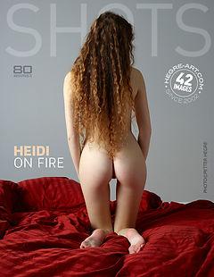 Heidi on fire