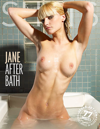 Jane after bath
