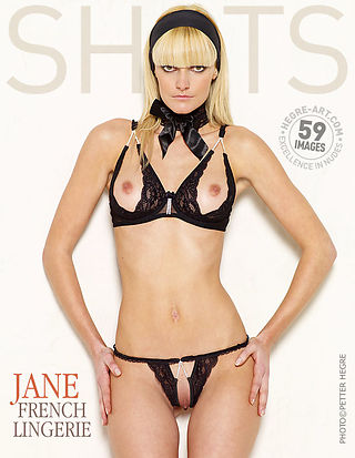 Jane french lingerie