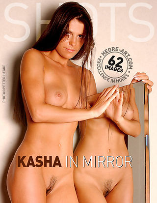 Kasha in mirror