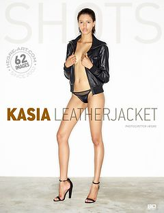 Kasia leather jacket