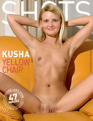 Kusha yellow chair